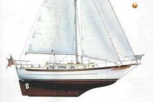 Cabo Rico 34: Plan de coque