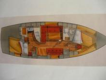 Cabo Rico 34: Plan d'aménagement