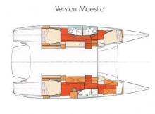 Salina 48 évolution Maestro : Plan d'aménagement