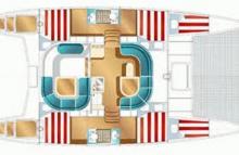 Nautitech 40: Plan d'aménagement