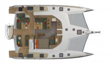 NEEL 47 : Plan de pont et cockpit