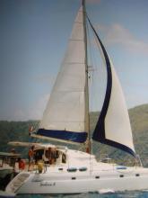 En navigation aux caraïbes - Fountaine Pajot Venezia 42, Occasion (1999) - Martinique (Ref 305)