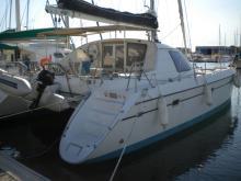 En marina - Alliaura Marine Privilege 37, Occasion (1997) - France (Ref 159)
