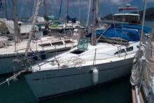 Au ponton du Marin - Jeanneau Sun Odyssey 37, Occasion (2001) - Martinique (Ref 189)