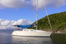 Au mouillage en Martinique - Gibert Marine Gib' Sea 302, Occasion (1995) - Martinique (Ref 406)