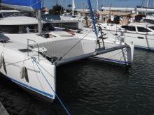 En marina - Fountaine Pajot Bahia 46, Occasion (1996) - Sainte Lucie (Ref 414)