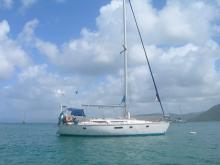 Au mouillage en Martinique - Jeanneau Voyage 11.20, Occasion (1989) - Martinique (Ref 419)