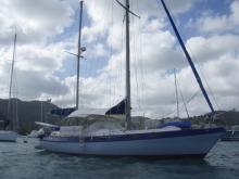 Au mouillage en Martinique - Morgan Yachts Morgan 41, Occasion (1973) - Martinique (Ref 444)