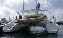 En marina - Fountaine Pajot Lavezzi 40, Occasion (2006) - Guadeloupe (Ref 475)