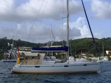 Au mouillage en Martinique - Bénéteau Oceanis 390, Occasion (1987) - Martinique (Ref 493)