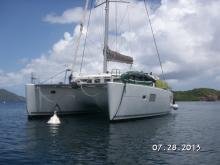 Au mouillage - Lagoon Lagoon 400 4 cabines, Occasion (2010) - Caraïbes (Ref 494)