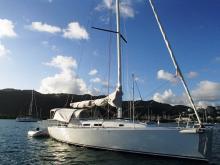 J-Boats - J-Composites J 122 : Au mouillage en Martinique