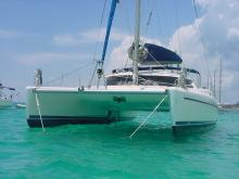 Mouialle au Marin en Martinique - Fountaine Pajot Athena 38, Occasion (2003) - Martinique (Ref 212)