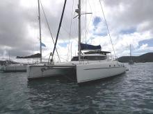 Fountaine Pajot Bahia 46 : Au mouillage, vue bâbord avant