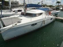 Mahé 36 en marina - Fountaine Pajot Mahe 36, Occasion (2006) - Martinique (Ref 252)