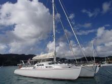 Waarship Cruising Trimaran : Mouillage du Marin en Martinique