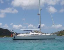 Mouillage aux Caraïbes - Beneteau Oceanis 44 CC, Occasion (1996) - Martinique (Ref 255)