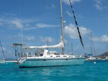 Mouillage aux Grenadines - Gibert Marine Gib'Sea 402, Occasion (1987) - Martinique (Ref 258)