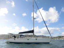 Sun Kiss 47: Au mouillage en Martinique