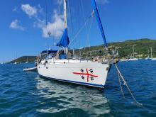Beneteau 50: Au mouillage en Martinique