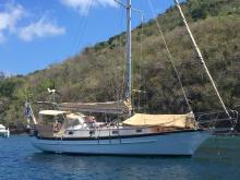 Cabo Rico 34: Au mouillage en Martinique