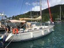 Dufour 365 Grand Large: En marina