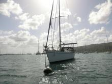 Gibert Marine Gib'Sea 472 : Au mouillage en Martinique