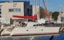 Lagoon 380: En marina