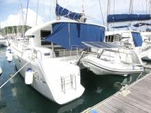 Lagoon 39: Vu depuis le ponton