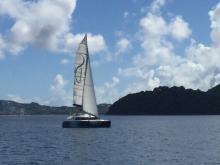 Lagoon 440: Navigation
