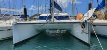 Nautitech 40: En marina