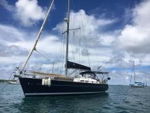 Bénéteau Oceanis 423 Clipper : Au mouillage en Martinique