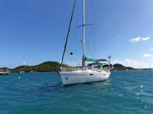 Bénéteau Oceanis 430 : Au mouillage en Martinique