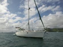 Oceanis 510: Au mouillage