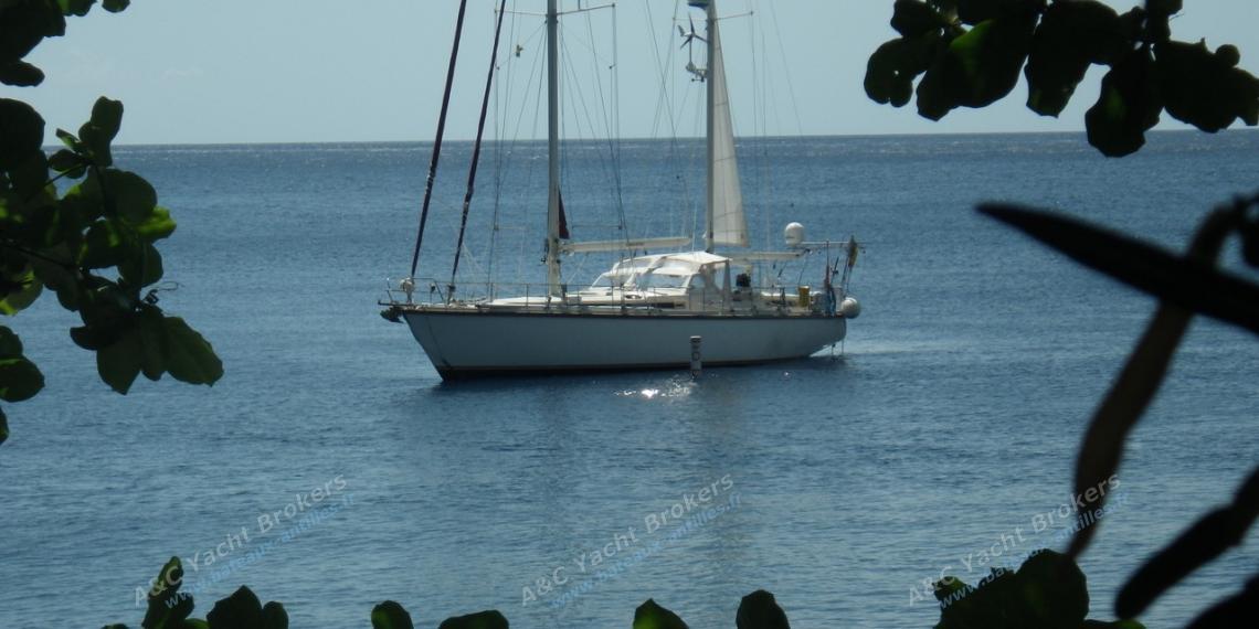 Super Maramu : Au mouillage en Caraibes