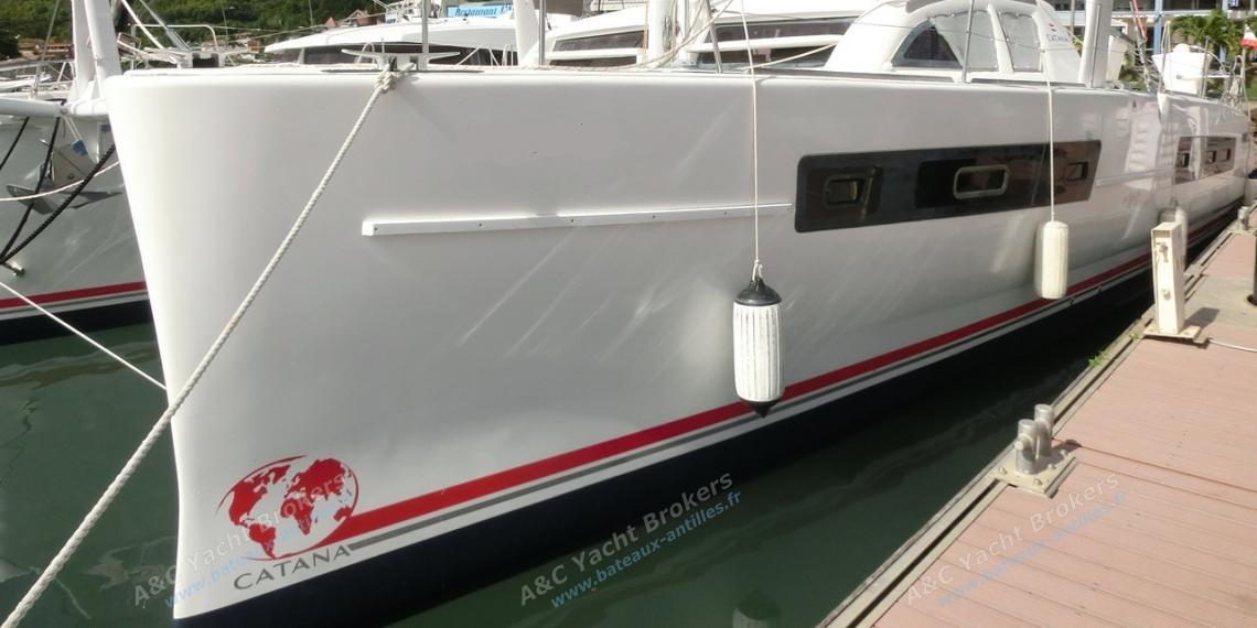 Catana 47: En Marina au Marin
