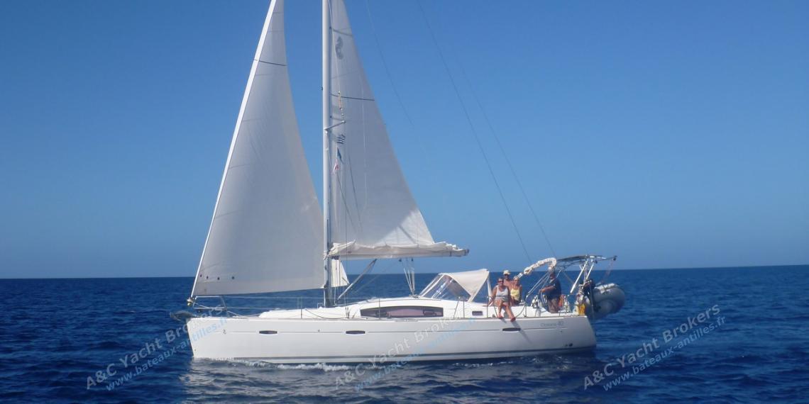 Bénéteau Oceanis 40 : En navigation aux Caraibes