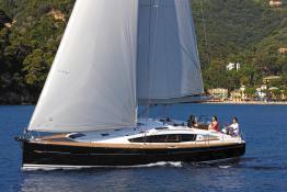 Sun Odyssey 44 DS en navigation