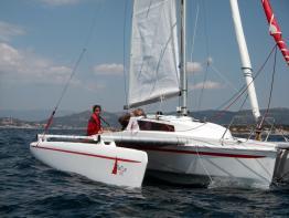 Astusboats Astus 22 en navigation