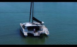 Mooring and tender launching - NEEL-TRIMARANS