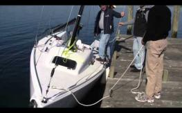 J70 test video Setting up and sailing