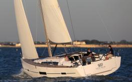 Dufour Yachts Dufour 500 Grand Large en navigation