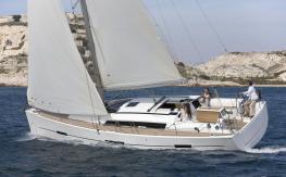 Dufour 410 en navigation