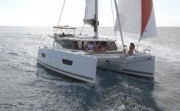 Lucia 40 : En navigation
