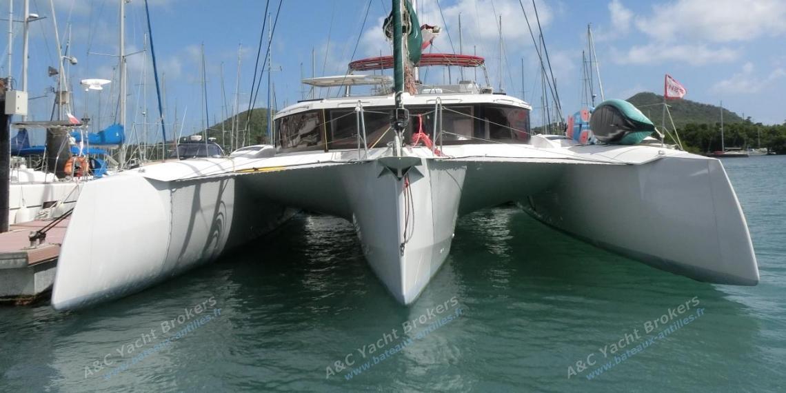 NEEL-TRIMARANS NEEL 47 : Au ponton en Martinique
